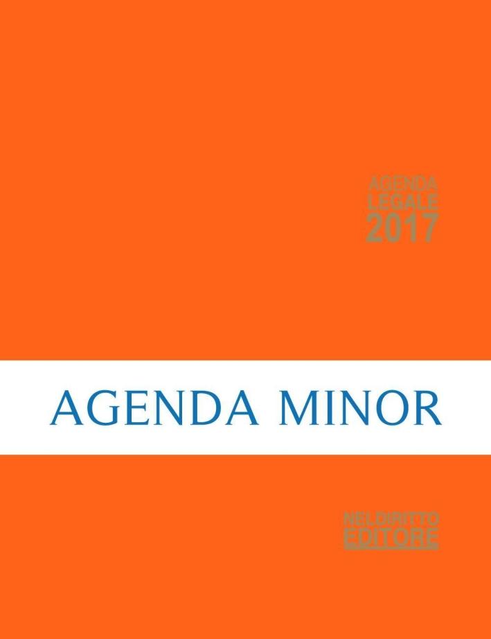 Agenda legale 2017 arancione. Ediz. minore.
