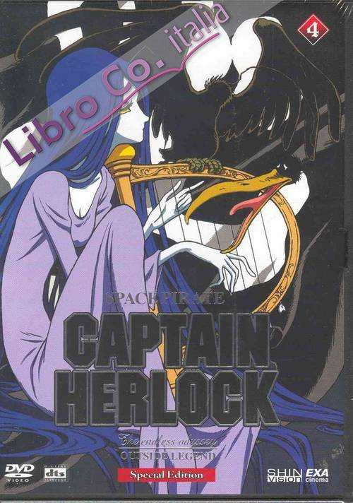 Captain Herlock. Space Pirate. DVD.