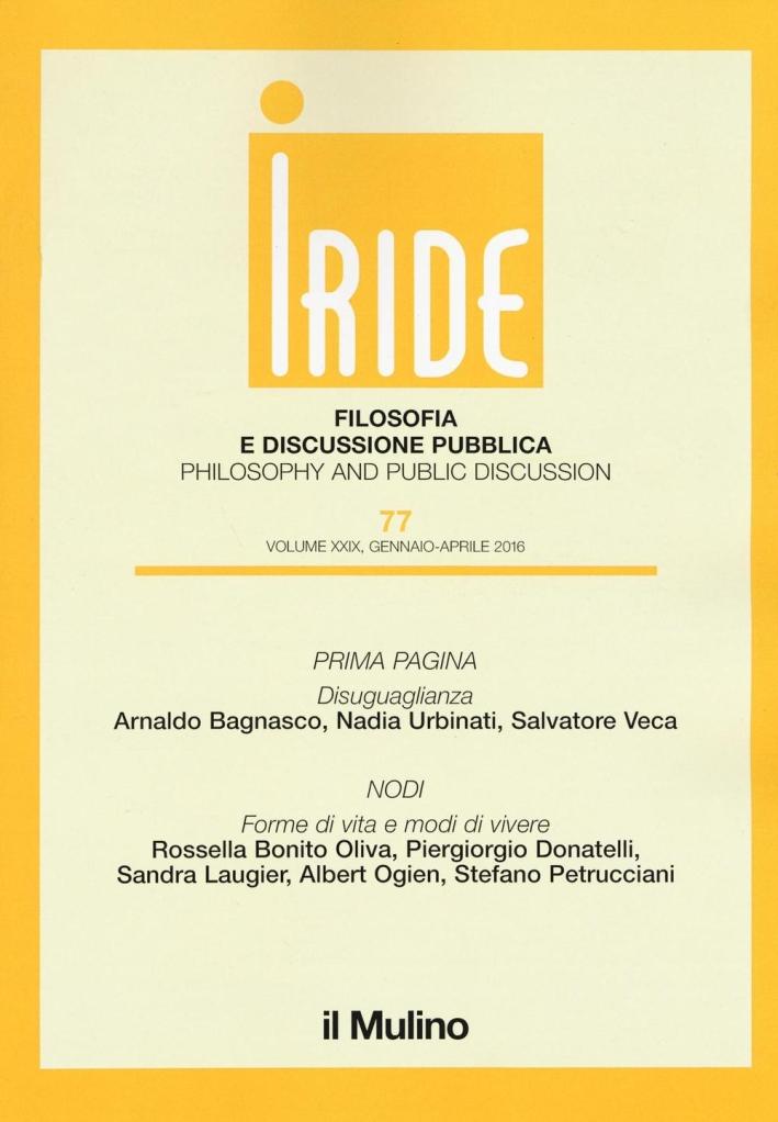 Iride (2016). Vol. 1.