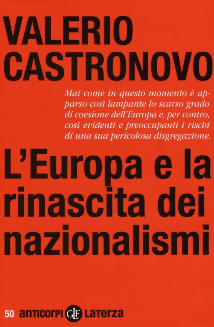 L'Europa e la rinascita dei nazionalismi.