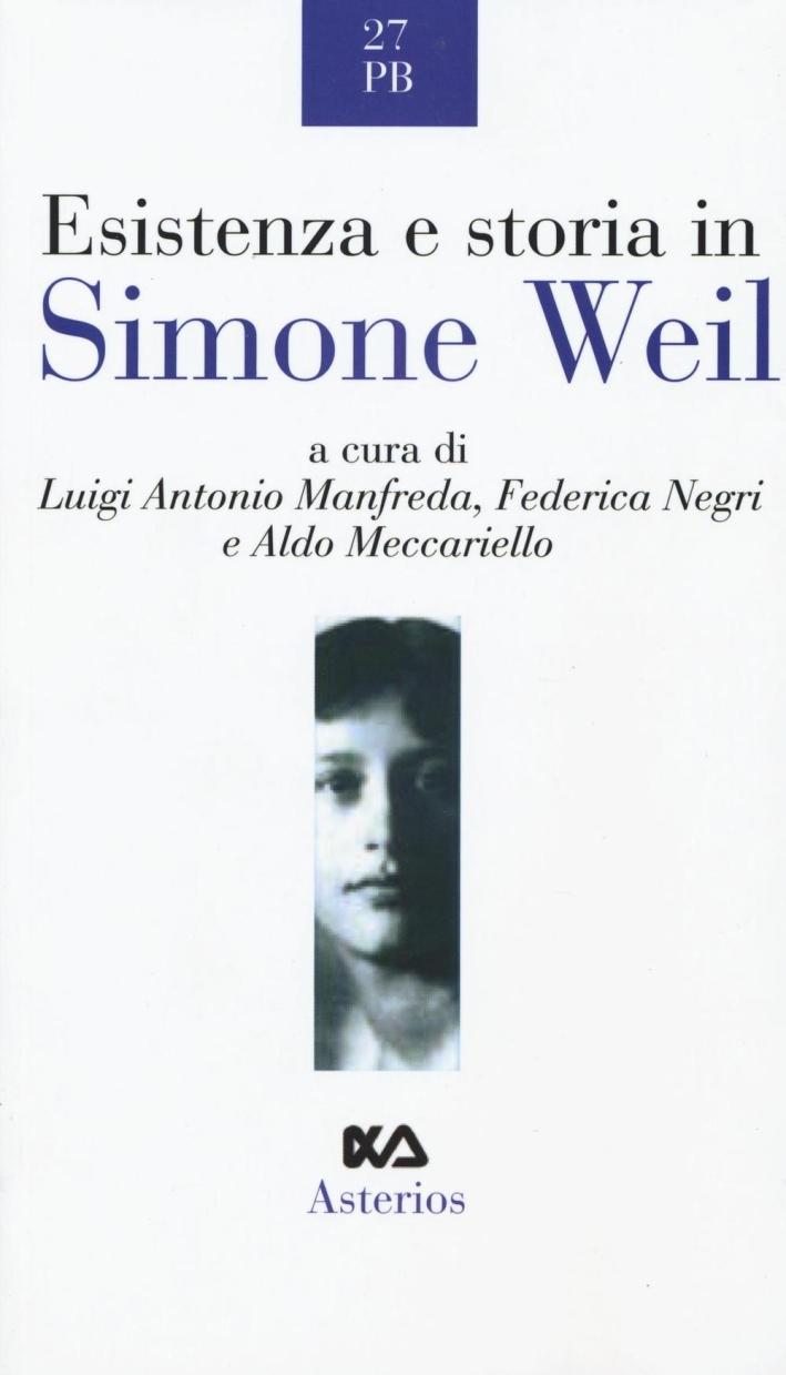 Esistenza e storia in Simone Weil.