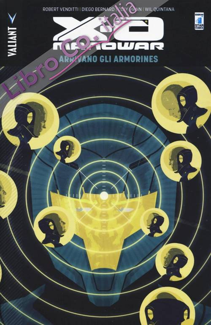 Arrivano gli Armorines. X-O Manowar. Vol. 8