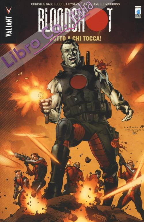Sotto a chi tocca. Bloodshot. Vol. 5