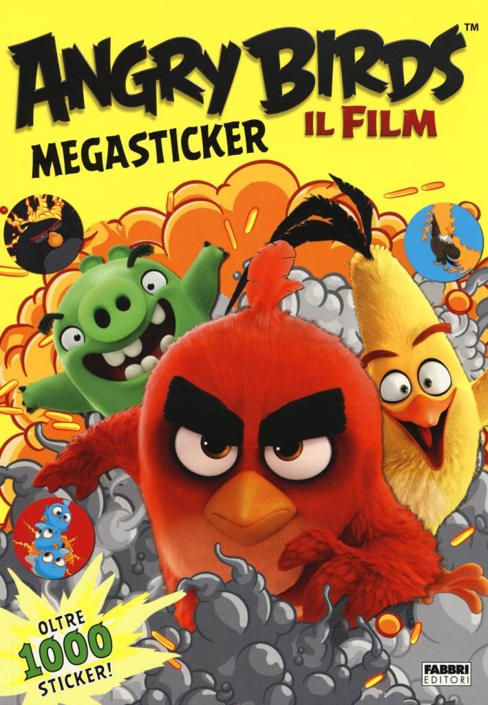 Angry Birds. Il film. Megasticker. Con adeisivi. Ediz. illustrata