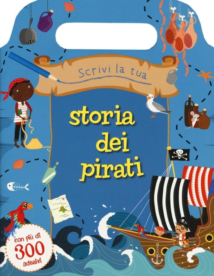 Scrivi la tua storia dei pirati.