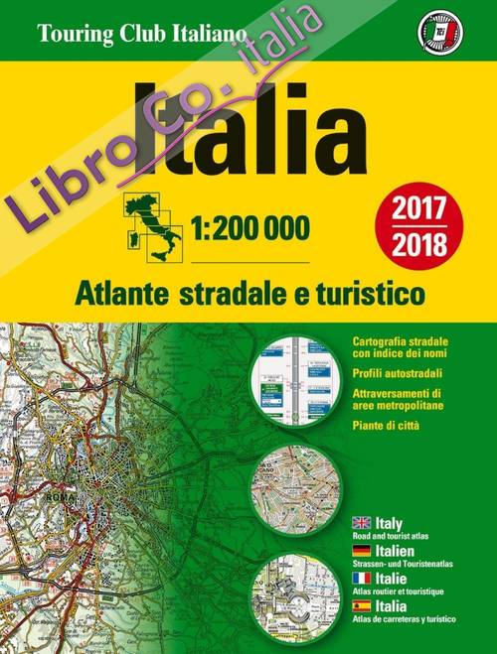 Atlante stradale Italia 1:200.000
