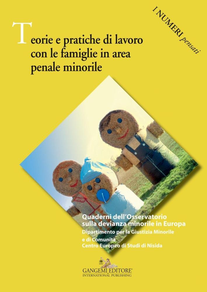 Teorie e pratiche di lavoro con le famiglie in area penale minorile.