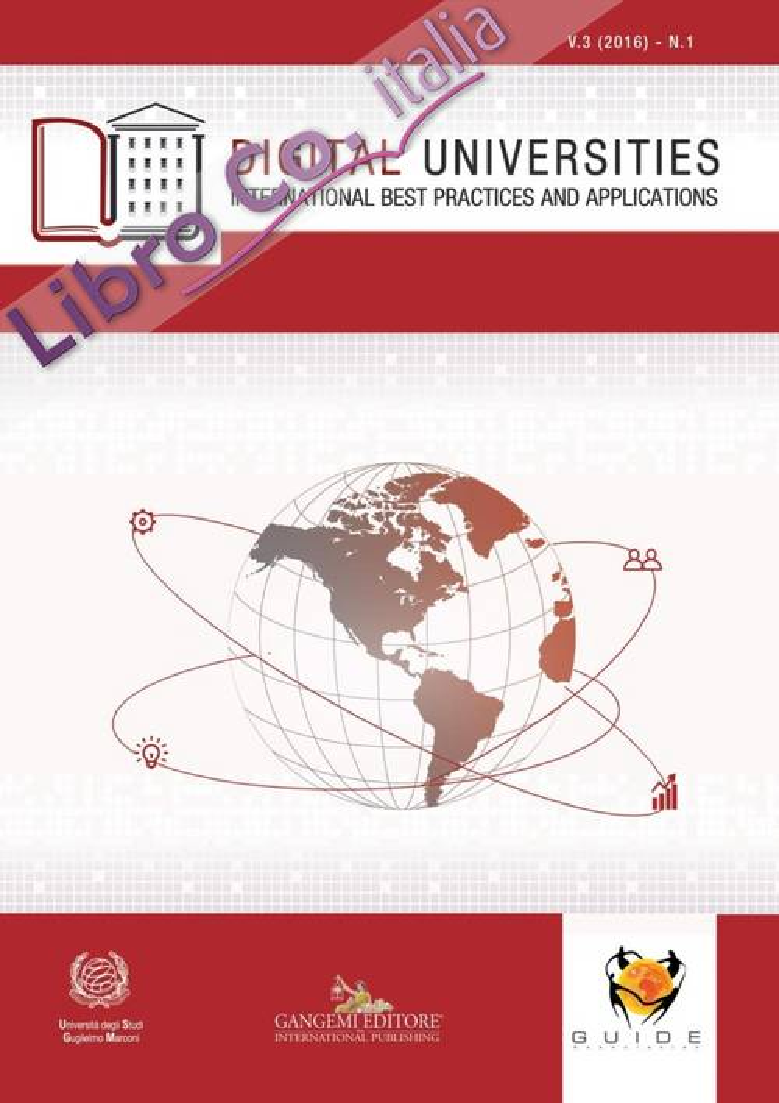 Digital universities. International best practices and applications (2016). Ediz. illustrata. Vol. 1