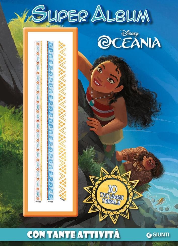 Super album. Oceania. Con gadget