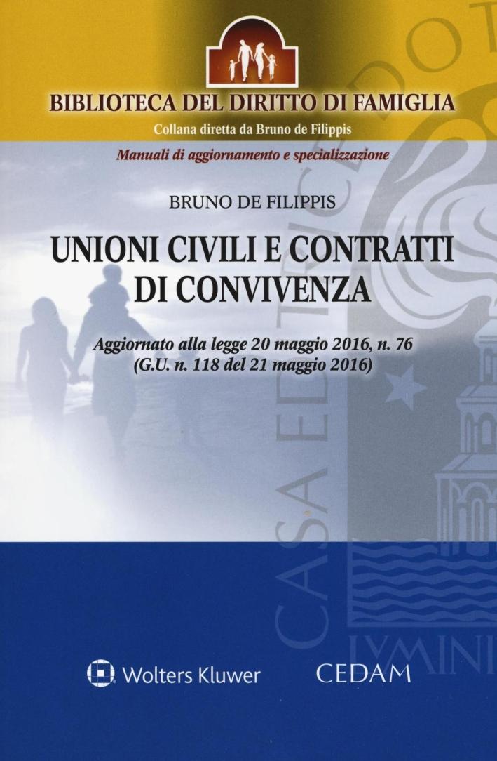 Unioni civili e contratti di convivenza.