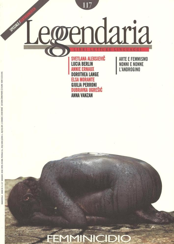 Leggendaria. Vol. 117: Femminicidio.