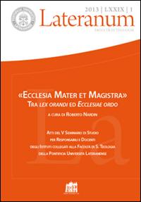 Lateranum (2013). Vol. 1: