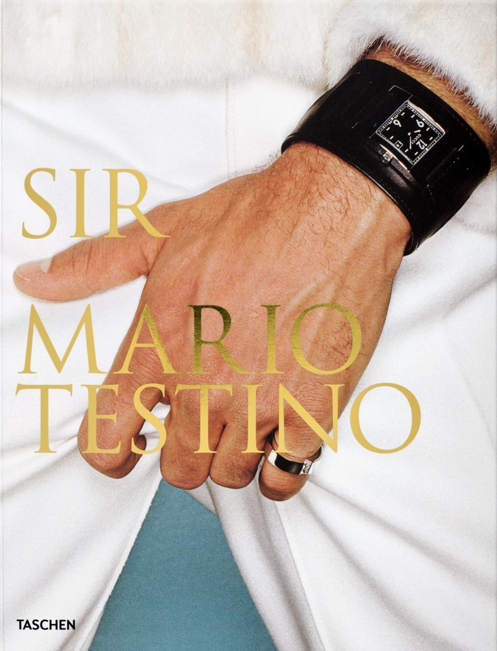 Sir Mario Testino.