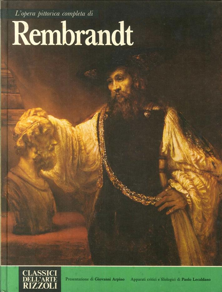 L'opera completa di Rembrandt