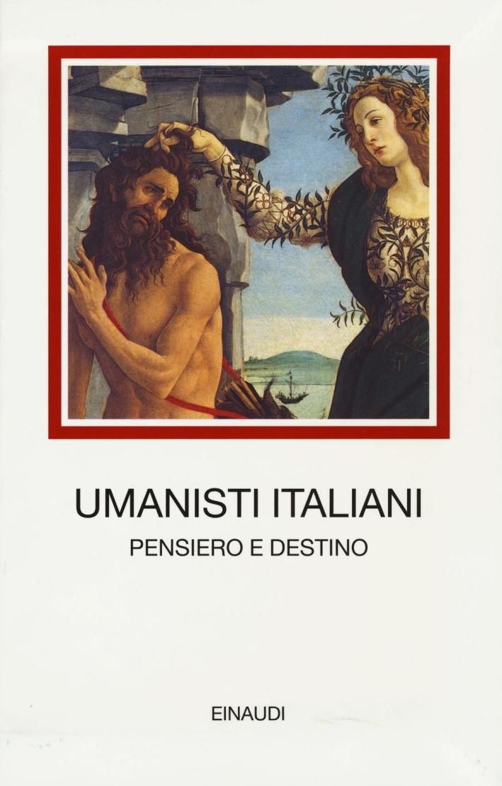 Umanisti italiani.