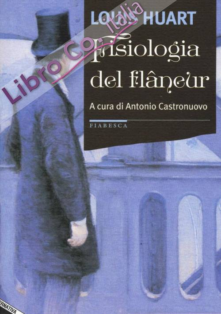 Fisiologia del flâneur.
