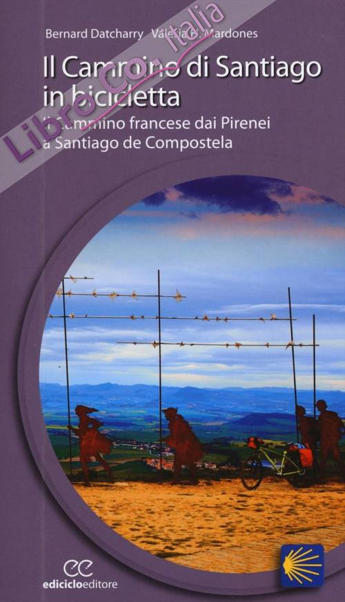 Il cammino di Santiago in bicicletta. Il cammino francese dai Pirenei a Santiago de Compostela.