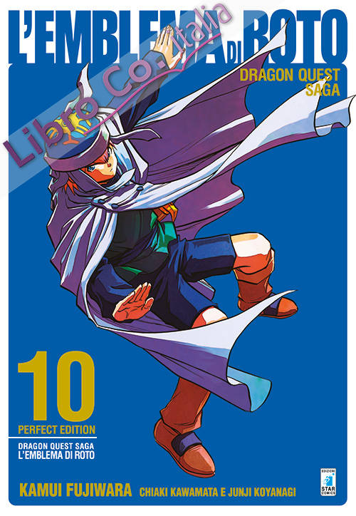 L'emblema di Roto. Perfect edition. Dragon quest saga. Vol. 10.