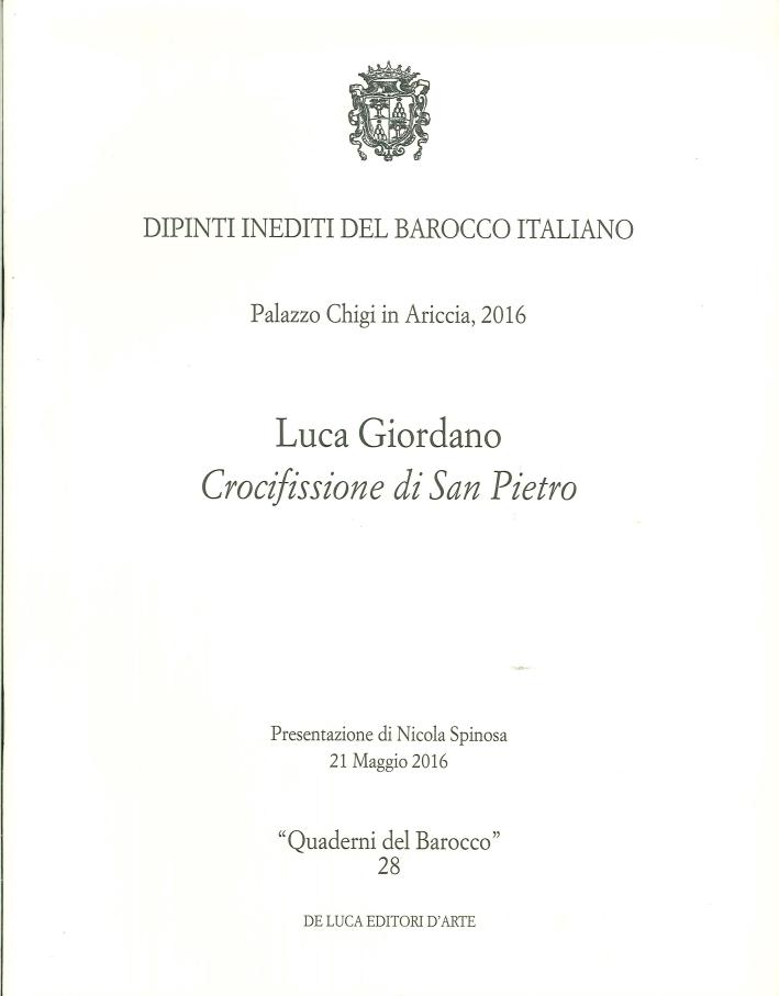 Luca Giordano. Crocifissione di San Pietro.