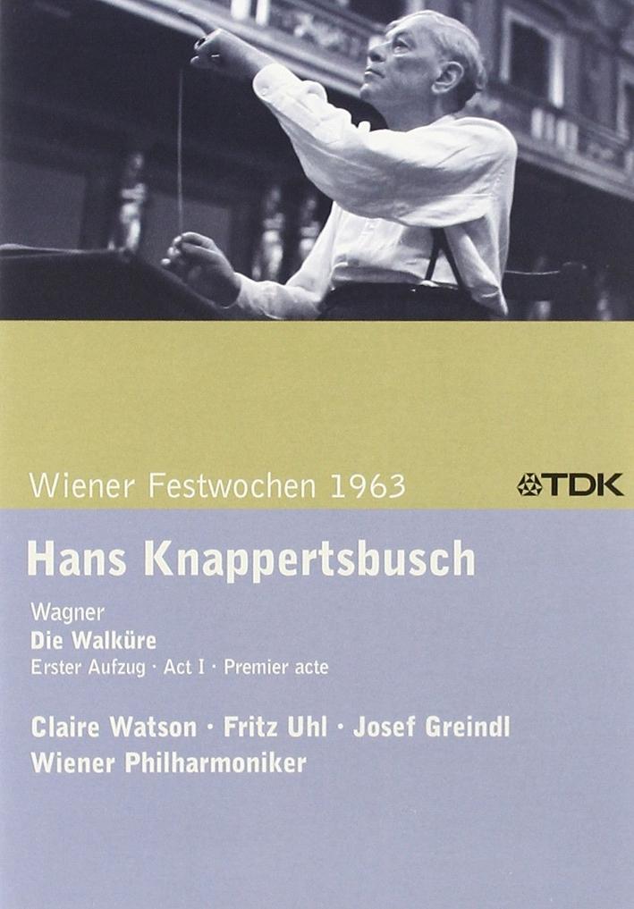 Hans Knappertsbusch - Wiener Festwochen 1963 DVD