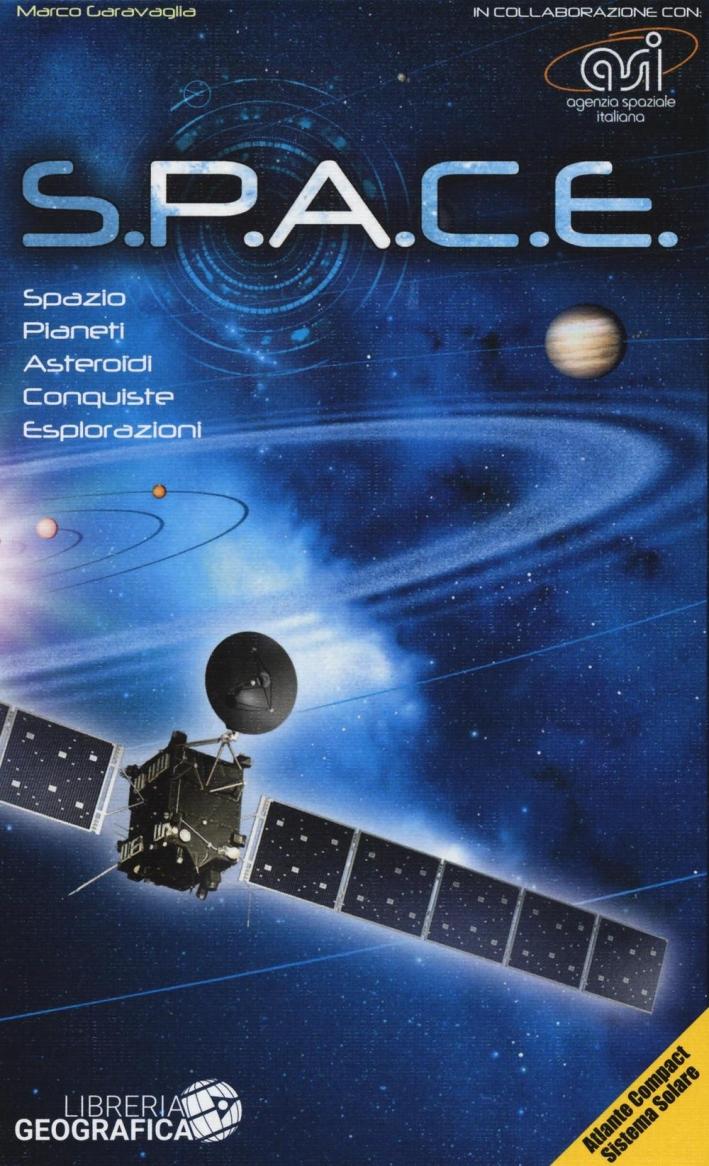 S.P.A.C.E. Atlante sistema solare compact. Con gadget