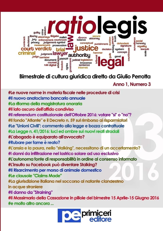 Ratio legis (2016). Vol. 3.