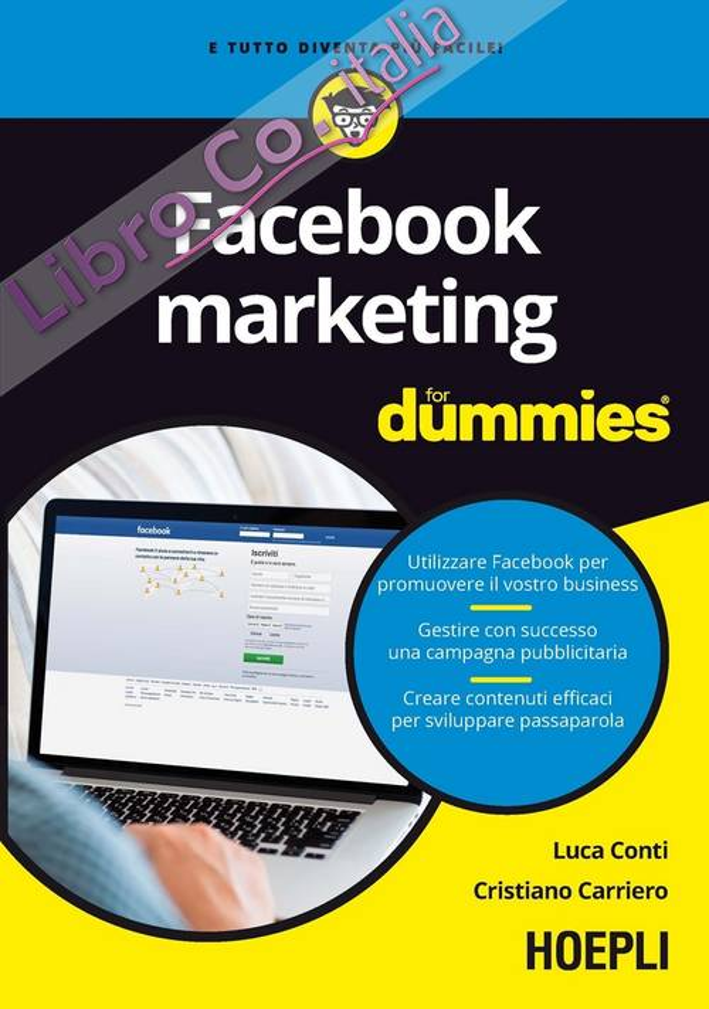Facebook marketing For Dummies.