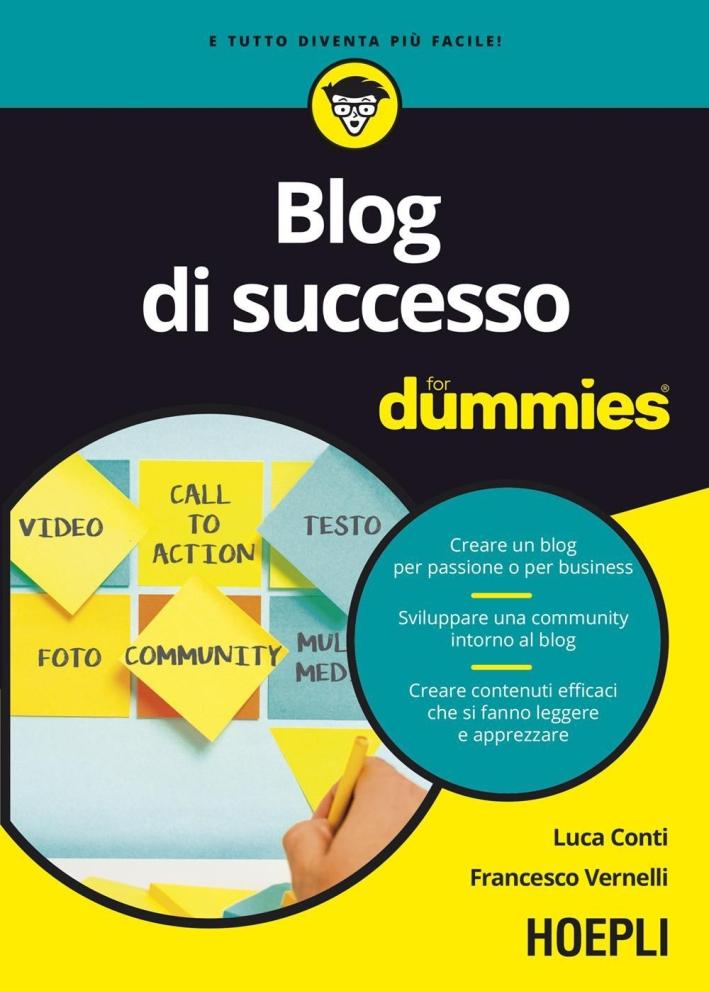 Blog di successo For Dummies.