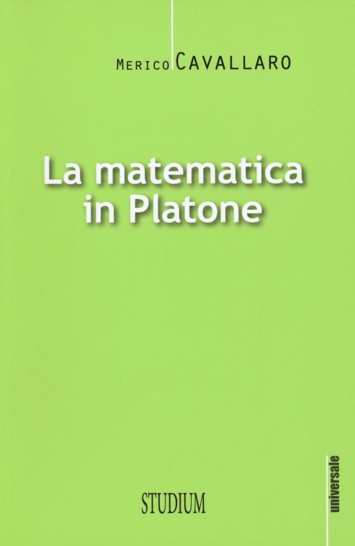 La matematica in Platone.