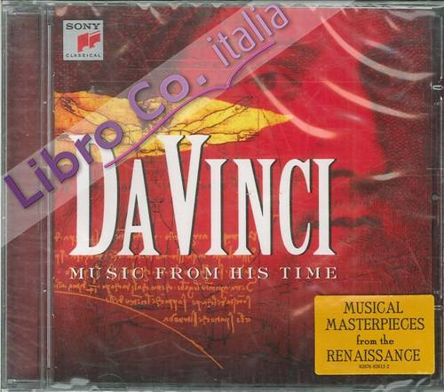 Da Vinci. Music From his Time. CD.
