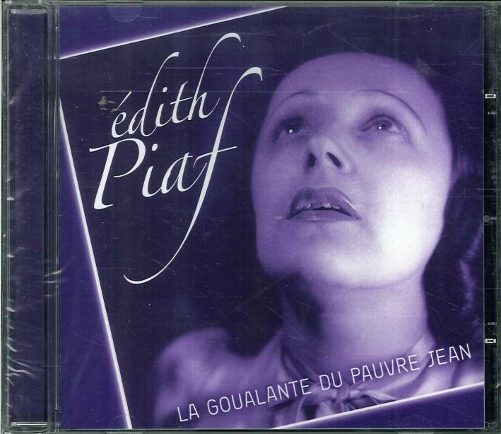 Edith Piaf. La Goualante Du Pauvre Jean. CD.