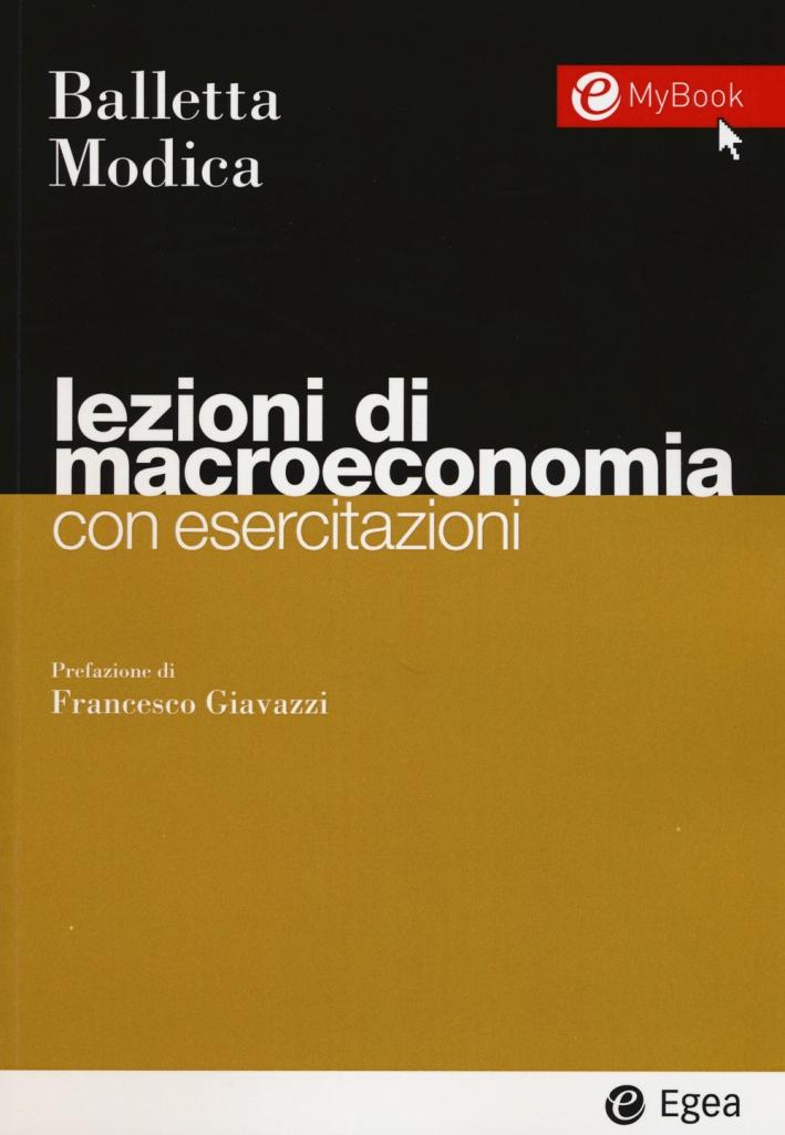 Lezioni di macroeconomia. Con esercitazioni.