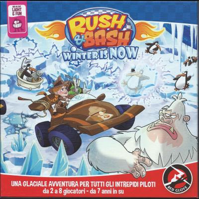Rush & Bash - Winter Is Now. [Espansione per Rush & Bash].