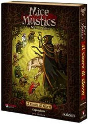 Mice and Mystics. Il Cuore di Glorm + Il Fantasma di Caster Andom. [Espansione per Mice and Mystics].