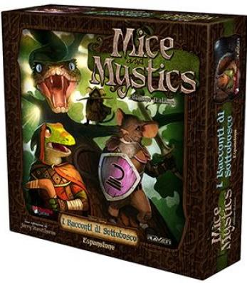Mice and Mystics. I Racconti di Sottobosco. [Espansione per Mice and Mystics].