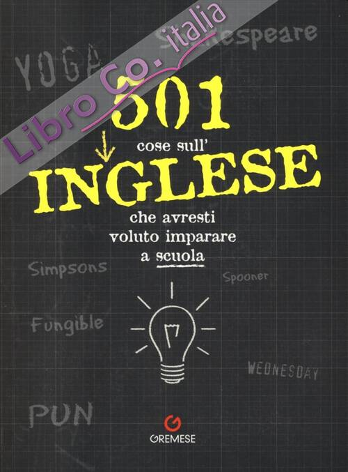 501 cose sull'inglese che avresti voluto imparare a scuola