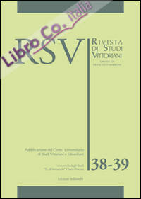 RSV. Rivista di studi vittoriani vol. 38-39