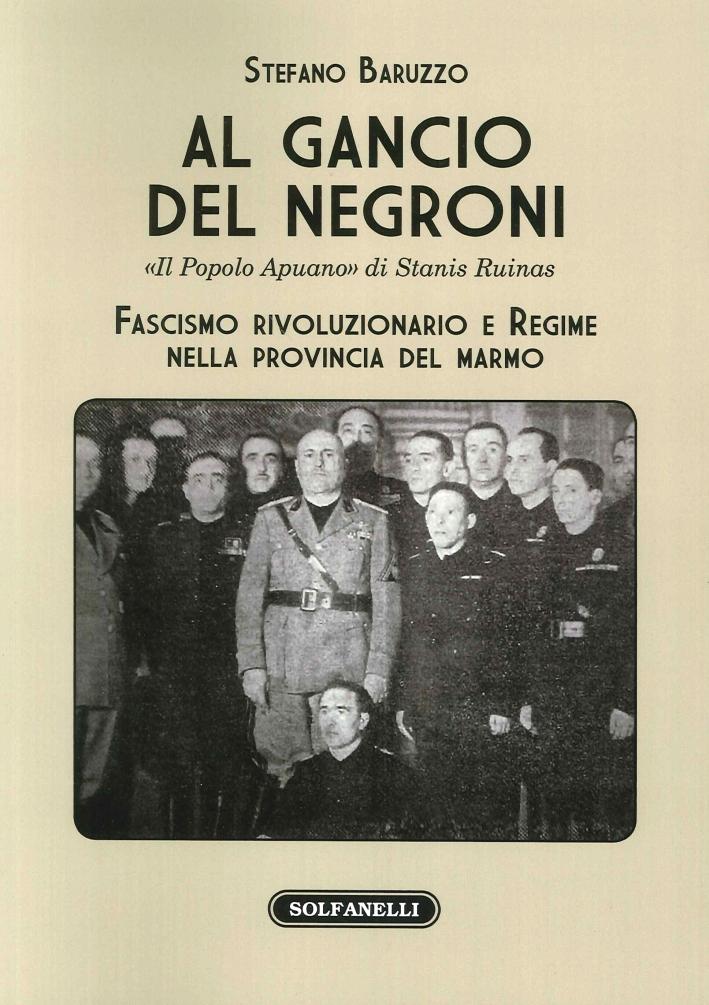 Al Gancio del Negroni.