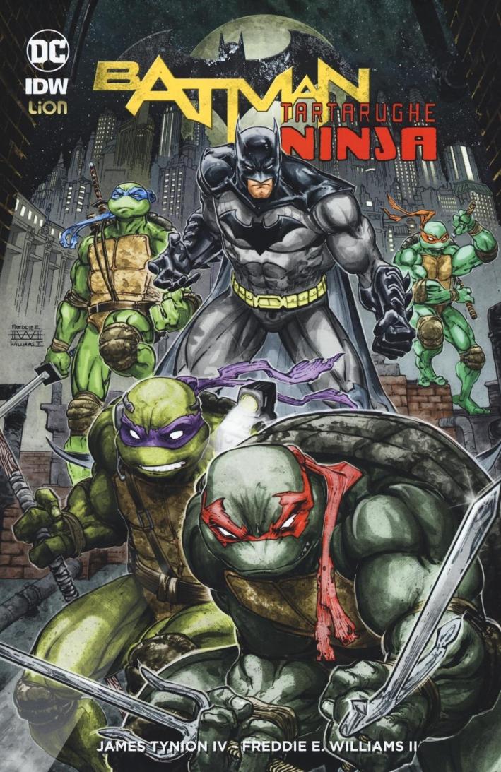 Batman. Tartarughe ninja