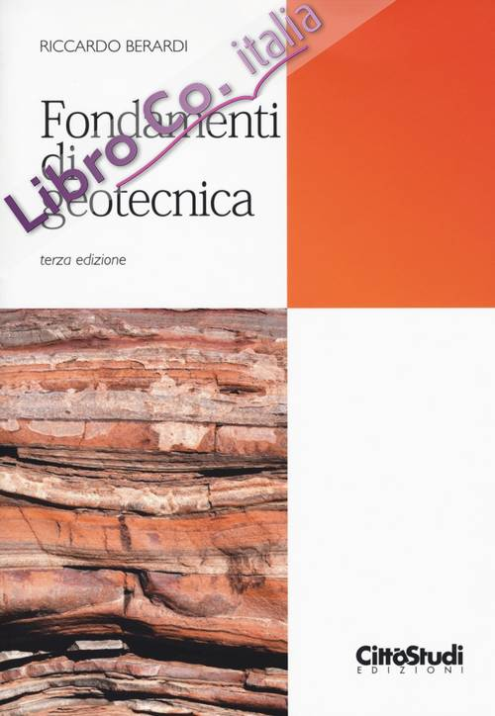 Fondamenti di geotecnica.