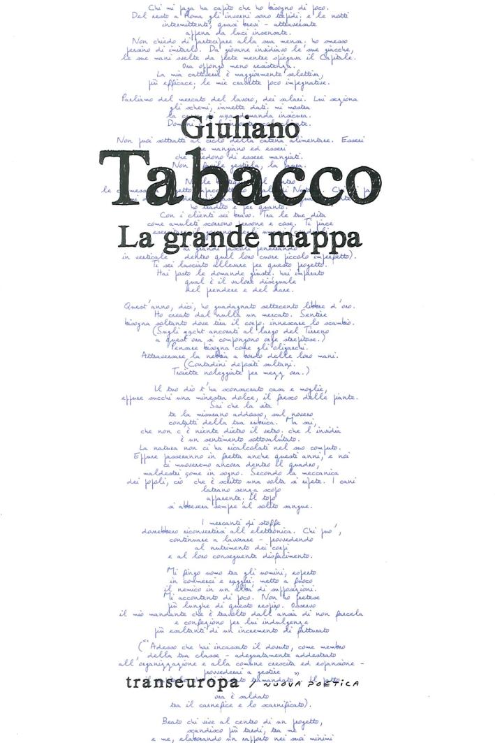 Giuliano Tabacco. La Grande Mappa.
