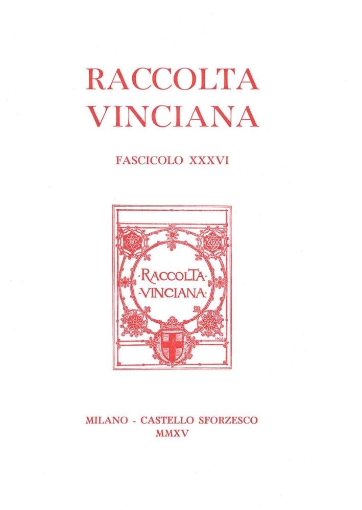 Raccolta vinciana (2015). Vol. 36.