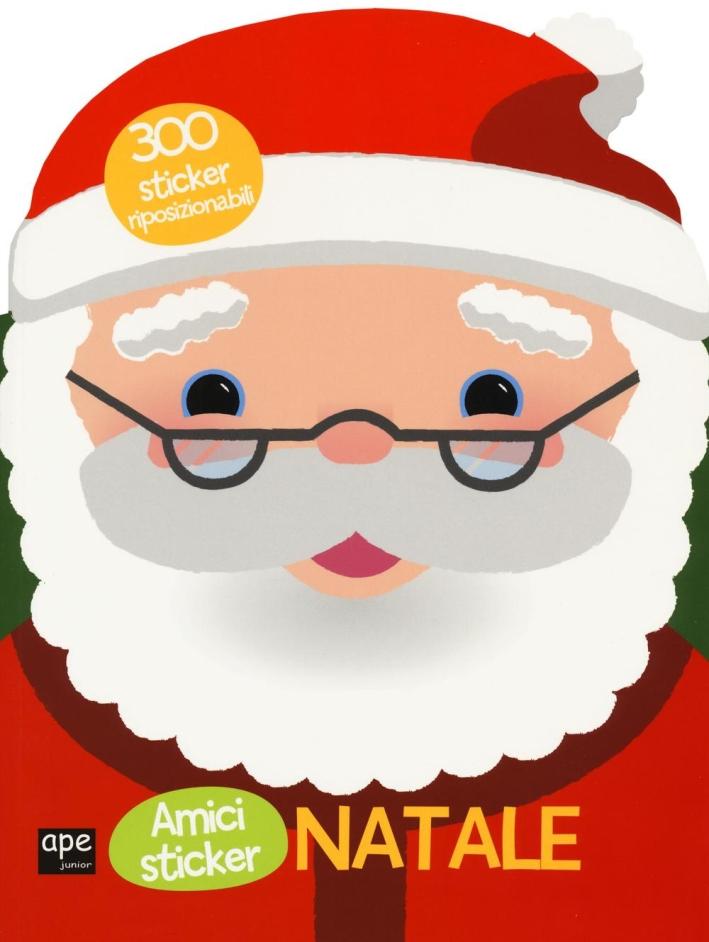 Babbo Natale. Con adesivi.