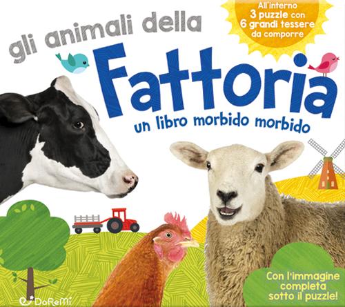 Gli animali della fattoria. Teneri puzzle.