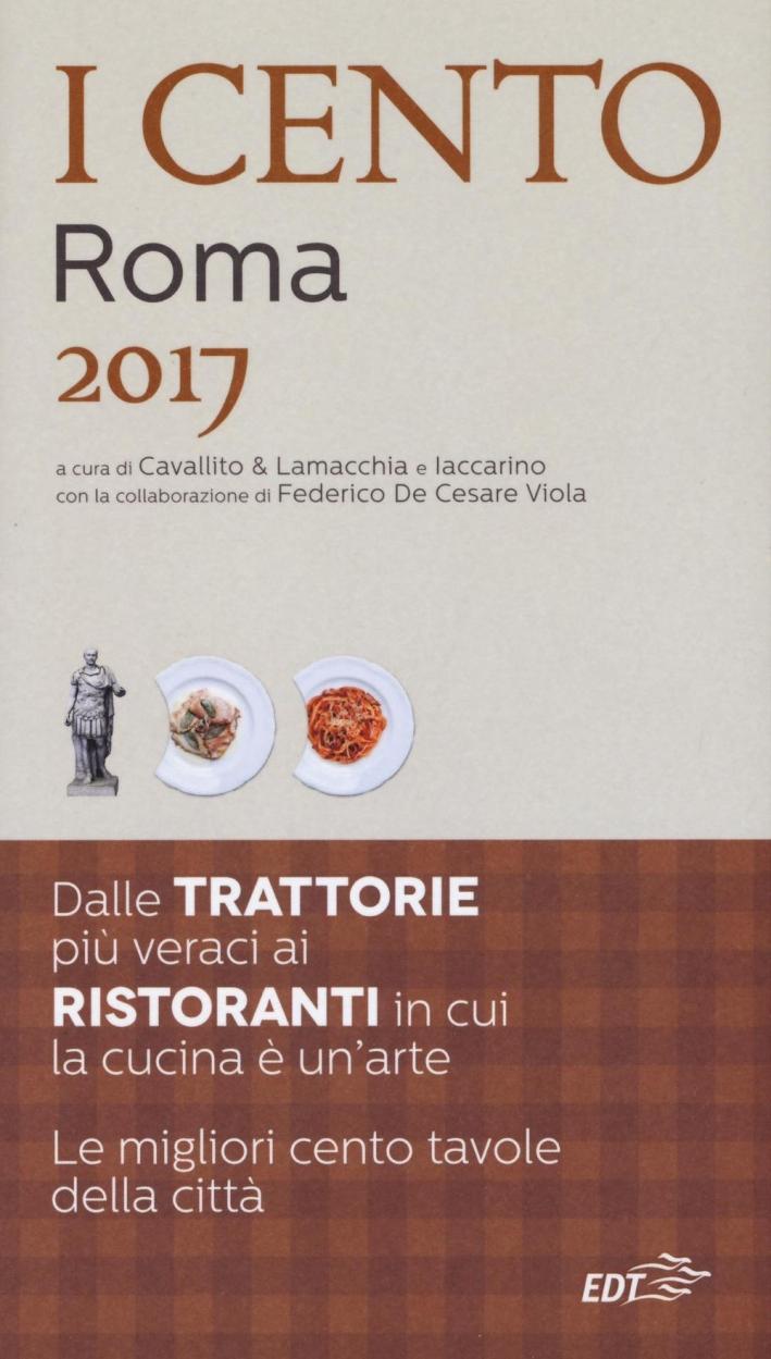 I cento di Roma 2017.