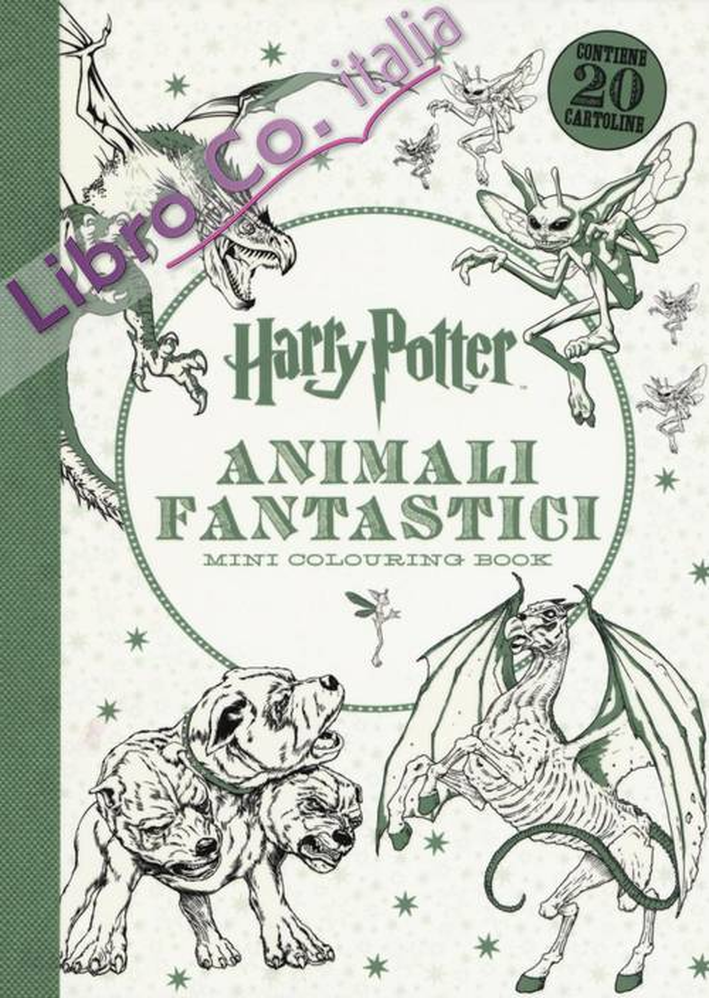 Harry Potter. Animali fantastici. Mini colouring book.