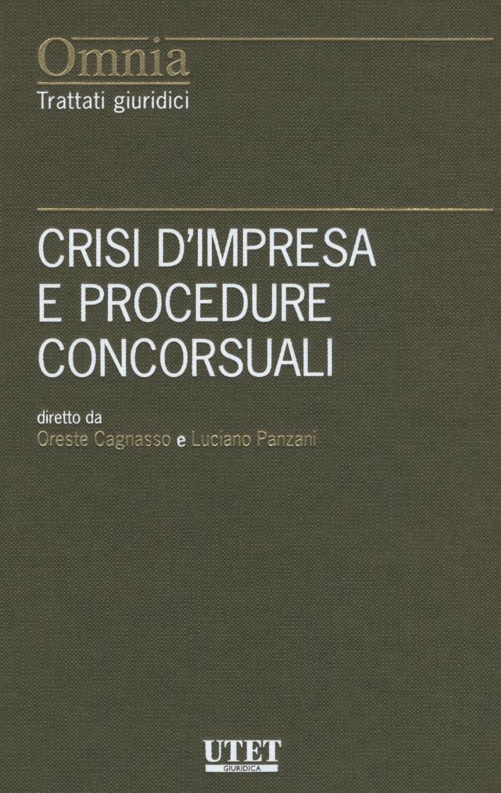 Crisi d'impresa e procedure concorsuali