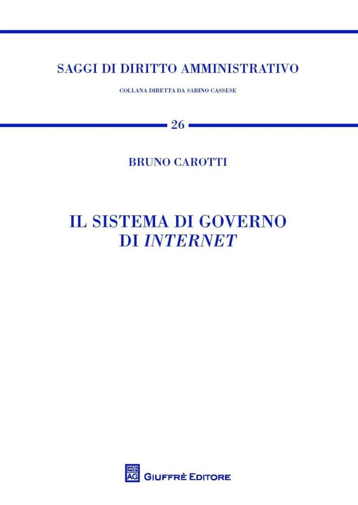 Il sistema di governo di internet.