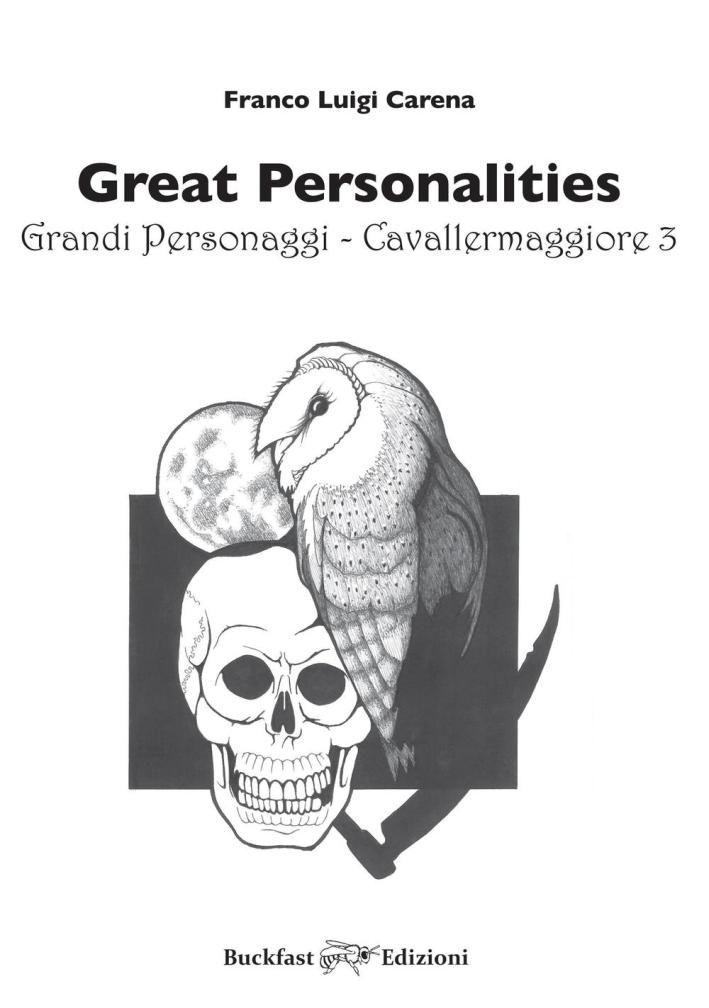Cavallermaggiore. Great personalities-Grandi personaggi. Ediz. bilingue. Vol. 3