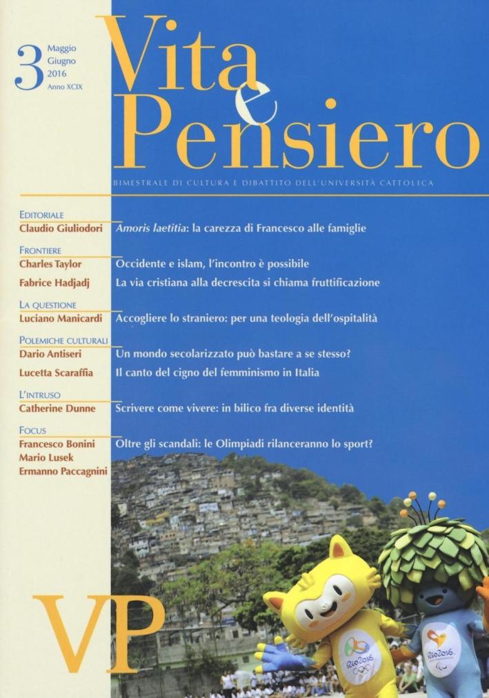 Vita e pensiero (2016). Vol. 3.